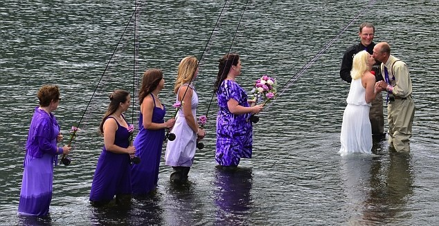 2 Alaskan Fly Fishing Guides Tie the Knot