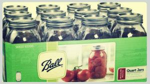 ball jars canning