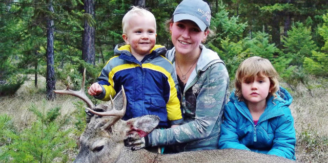 kids deer